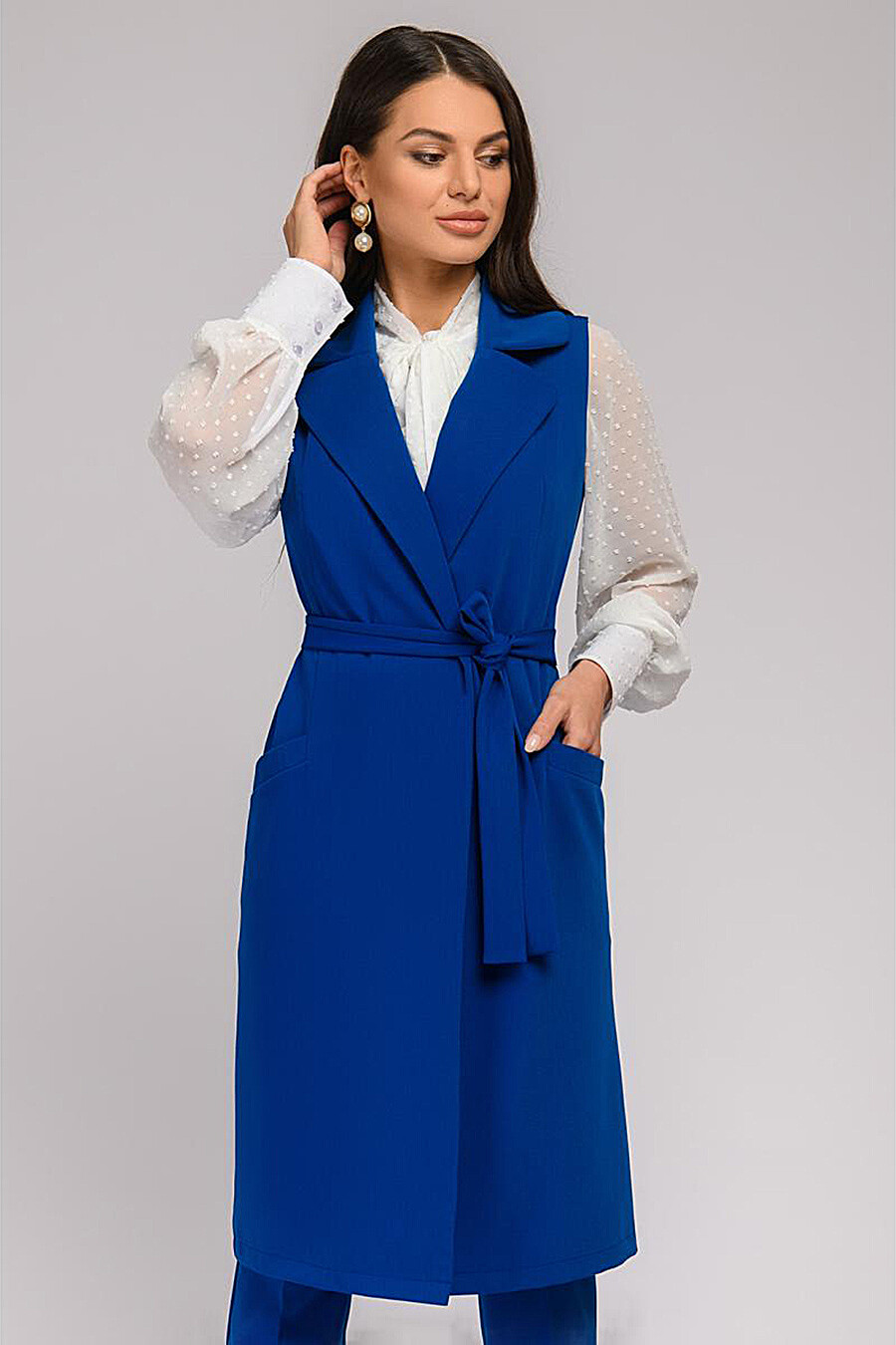 Жилет для женщин 1001 DRESS 159062 купить оптом от производителя. Совместная покупка женской одежды в OptMoyo