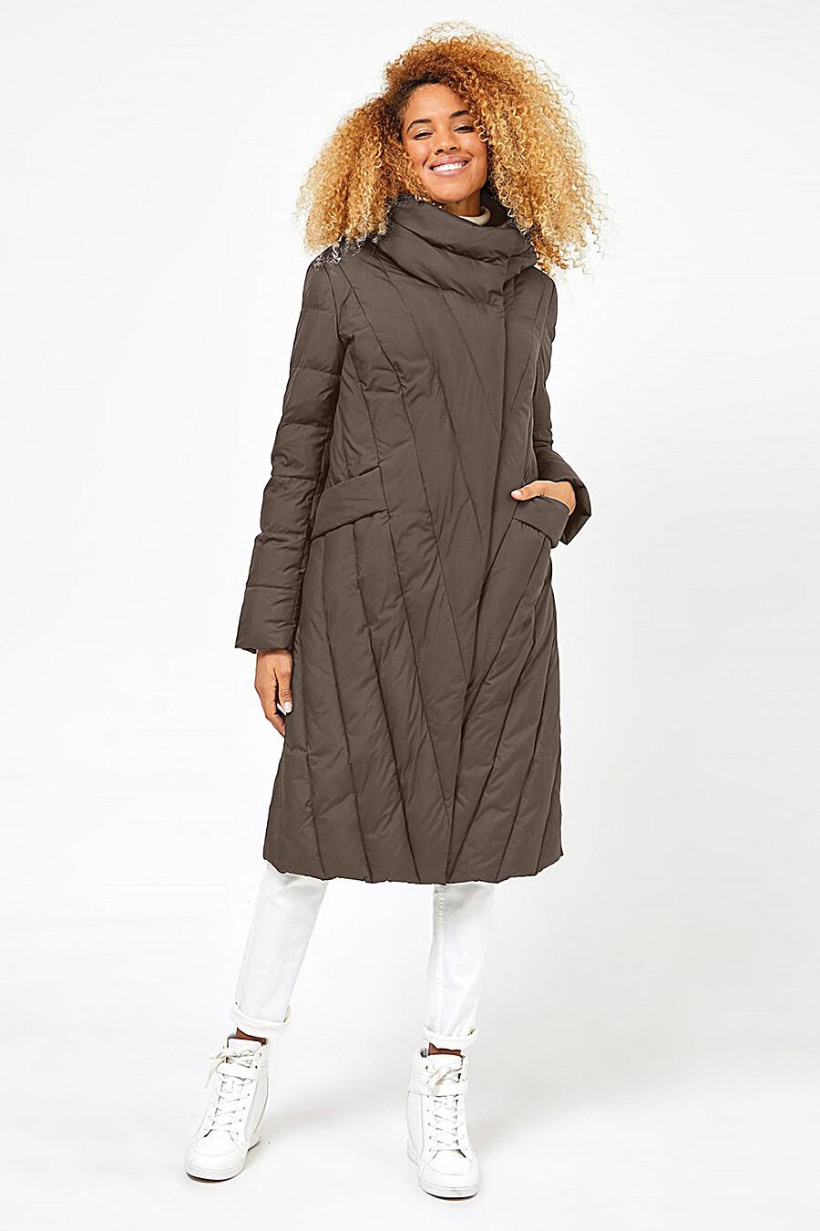 Пальто для женщин TOM FARR 159083 купить оптом от производителя. Совместная покупка женской одежды в OptMoyo