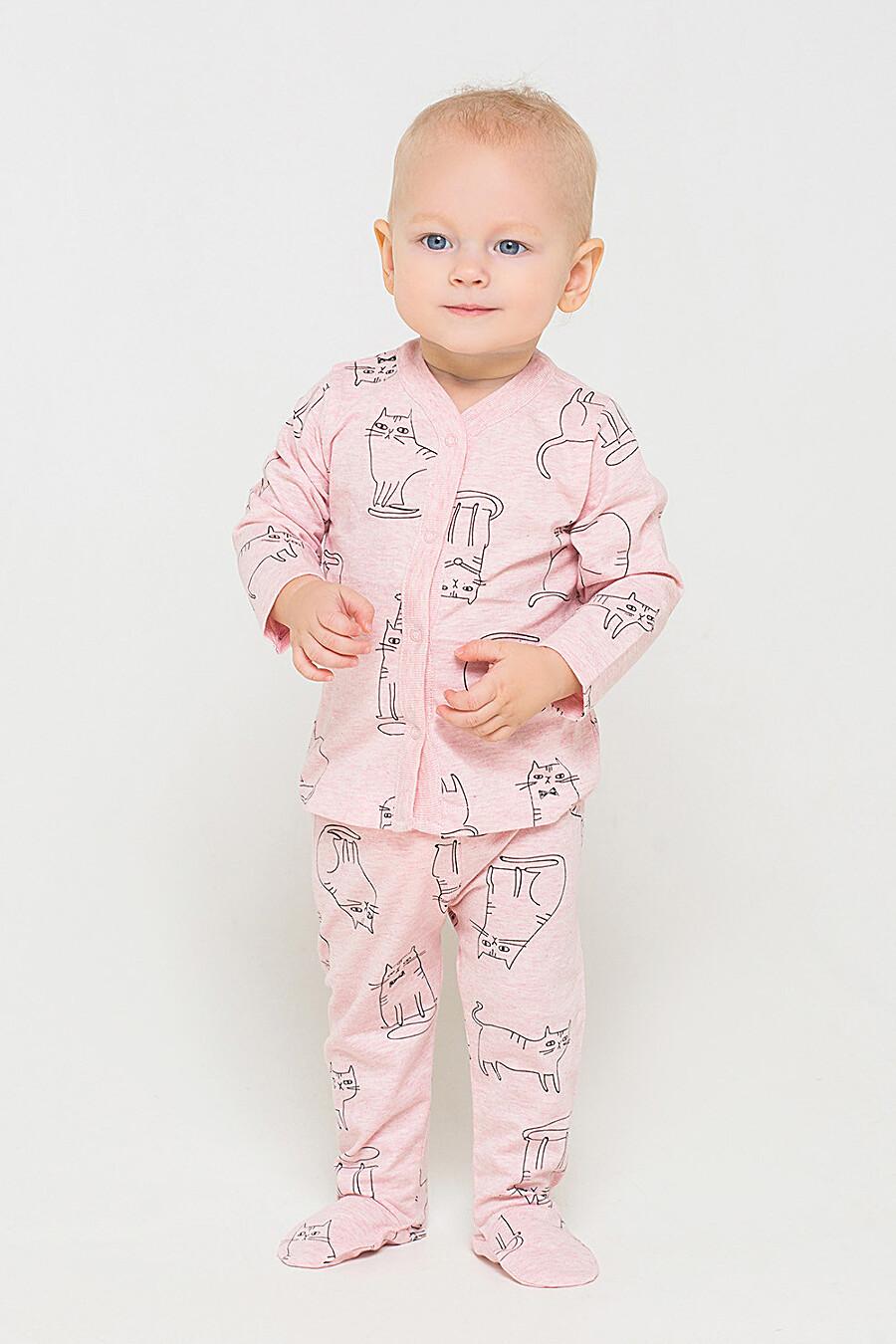 Ползунки для девочек CROCKID 161174 купить оптом от производителя. Совместная покупка детской одежды в OptMoyo