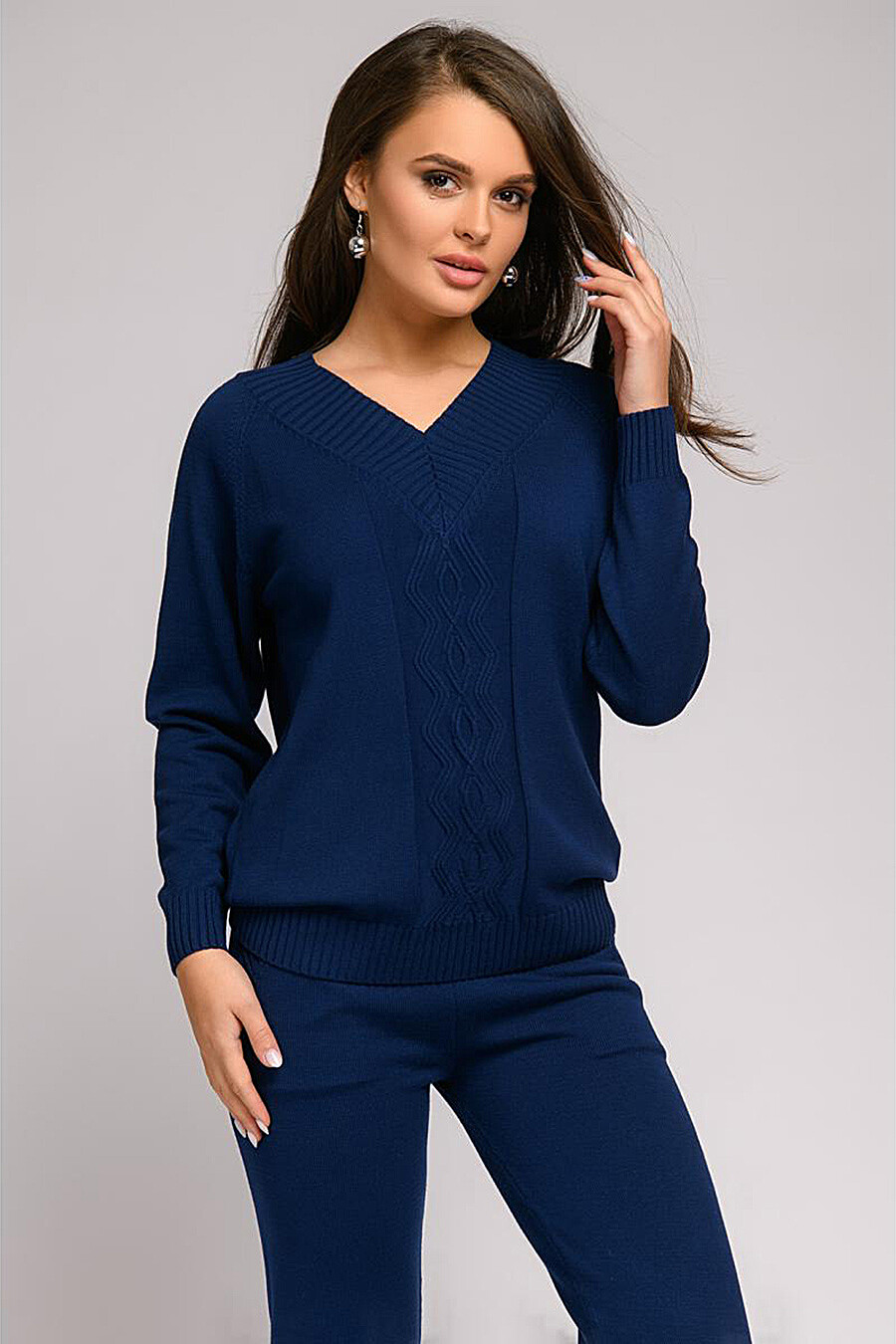 Джемпер для женщин 1001 DRESS 163211 купить оптом от производителя. Совместная покупка женской одежды в OptMoyo