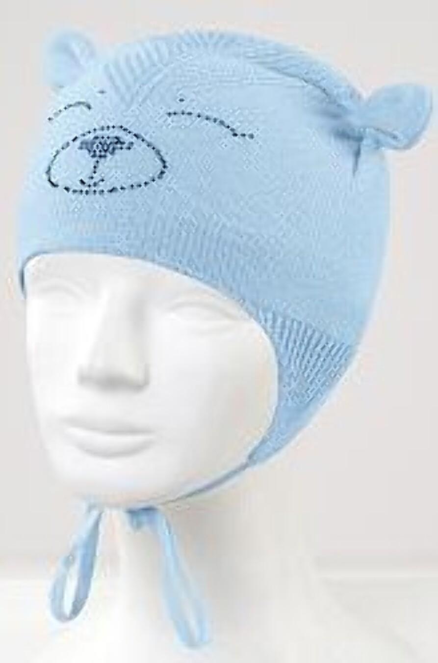 Шапка для девочек CLEVER 164444 купить оптом от производителя. Совместная покупка детской одежды в OptMoyo