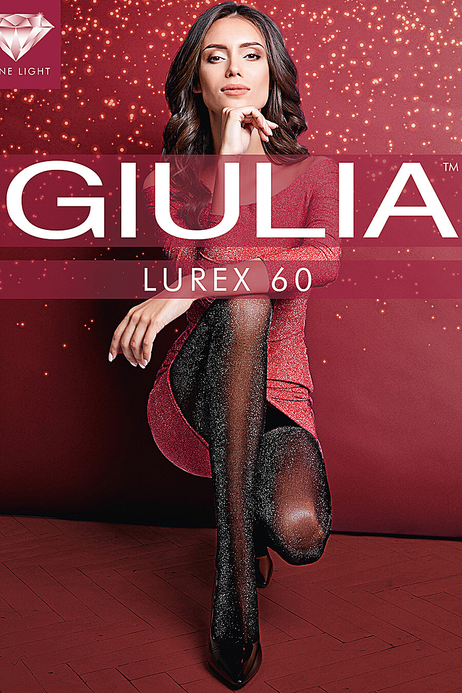 Колготки для женщин GIULIA 164507 купить оптом от производителя. Совместная покупка женской одежды в OptMoyo
