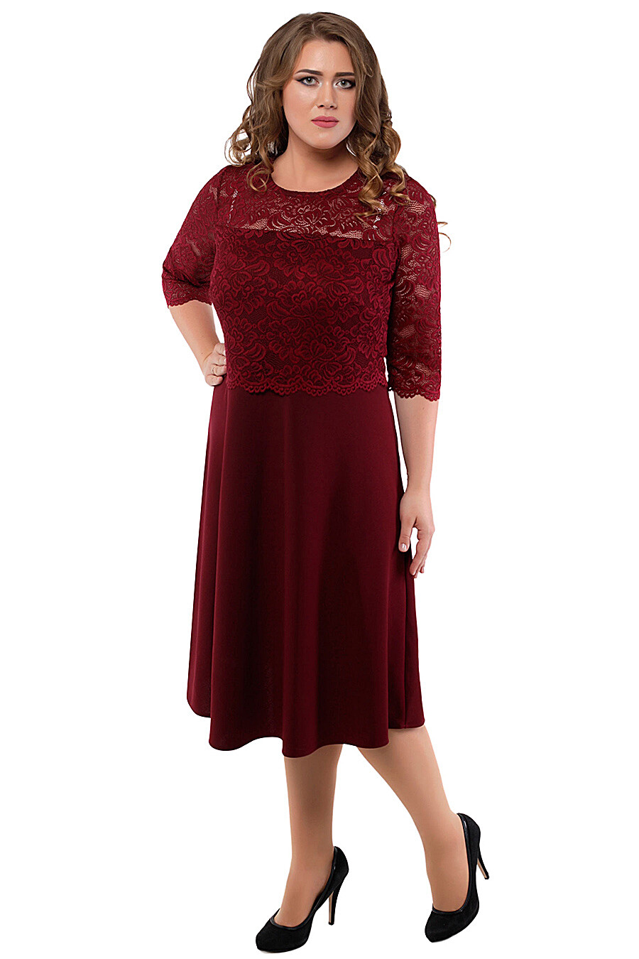 Платье для женщин DREAM WORLD 165393 купить оптом от производителя. Совместная покупка женской одежды в OptMoyo