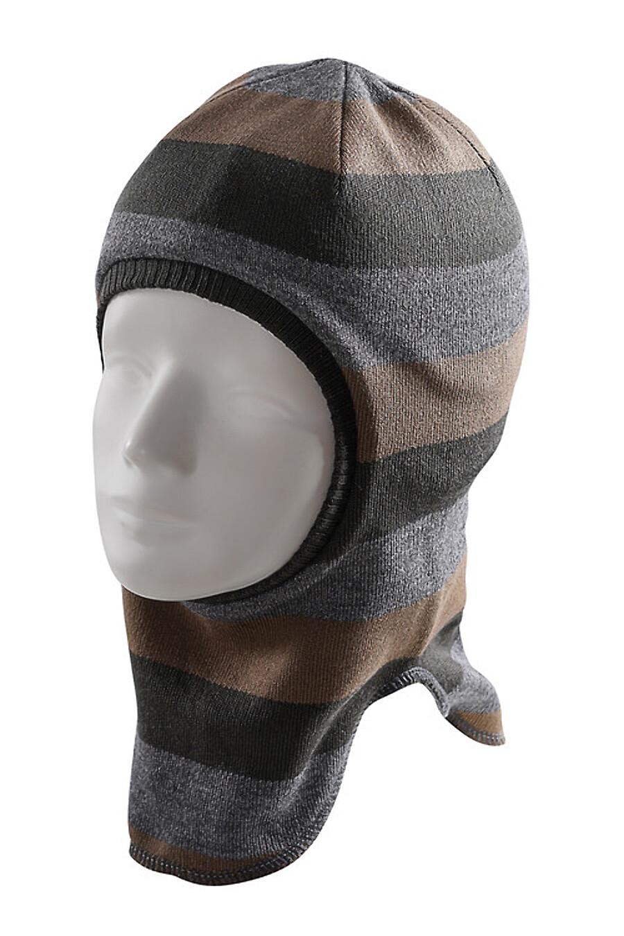 Шапка для мальчиков CLEVER 169256 купить оптом от производителя. Совместная покупка детской одежды в OptMoyo