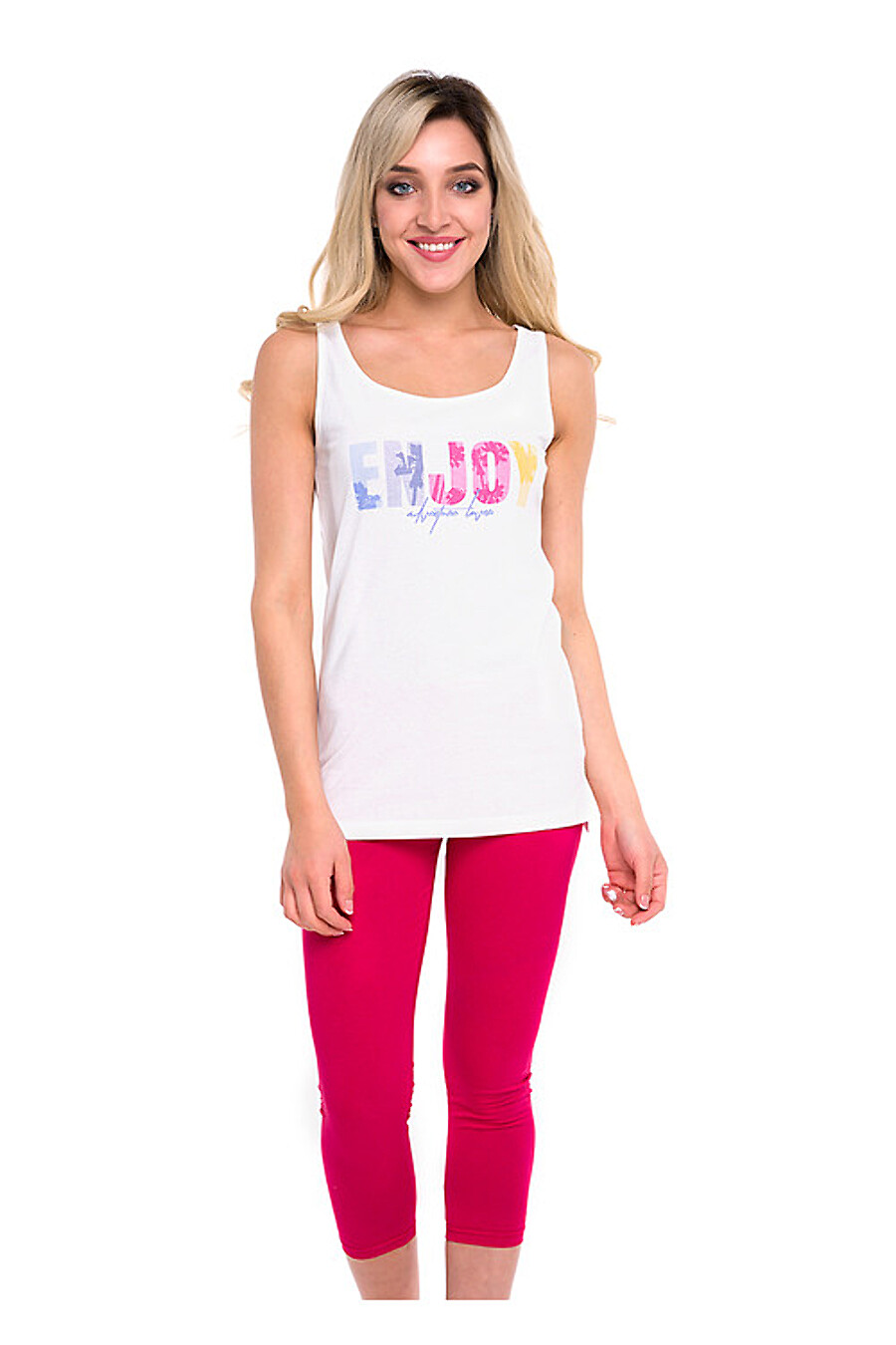 Комплект (бриджи+майка) для женщин CLEVER 176009 купить оптом от производителя. Совместная покупка женской одежды в OptMoyo