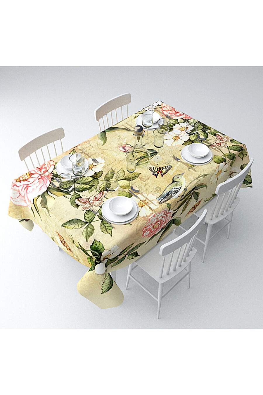 Скатерть с пропиткой для дома ART HOME TEXTILE 180080 купить оптом от производителя. Совместная покупка товаров для дома в OptMoyo