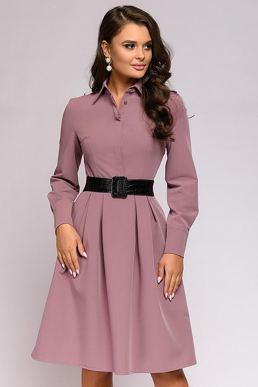 Платье для женщин 1001 DRESS 181007 купить оптом от производителя. Совместная покупка женской одежды в OptMoyo