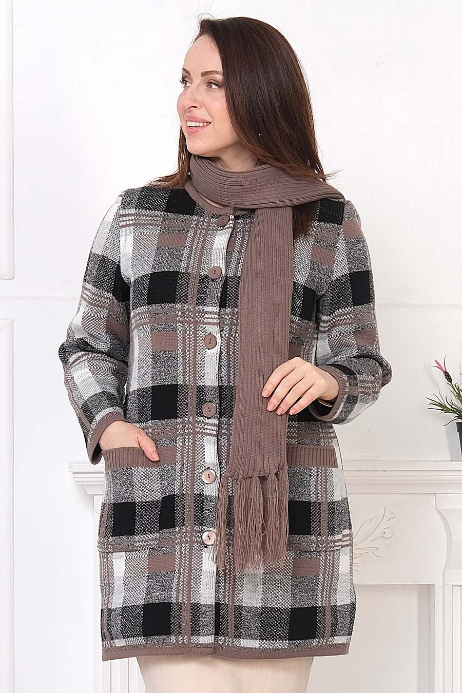 Кардиган для женщин ANKOLI 184393 купить оптом от производителя. Совместная покупка женской одежды в OptMoyo