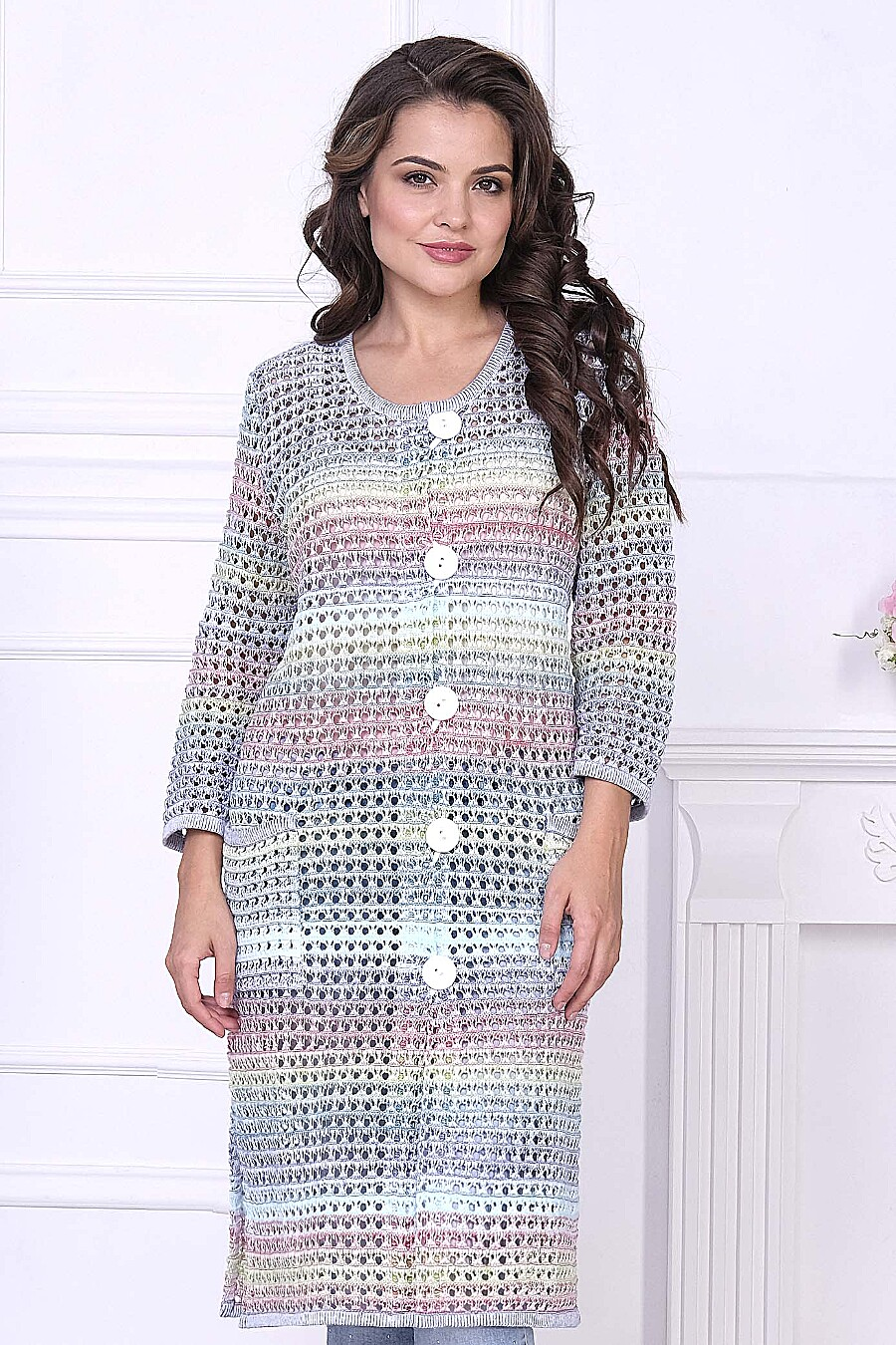 Кардиган для женщин ANKOLI 184441 купить оптом от производителя. Совместная покупка женской одежды в OptMoyo