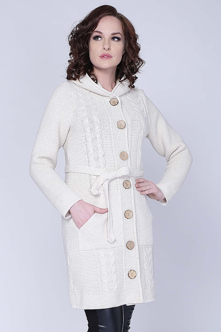 Кардиган для женщин ANKOLI 184450 купить оптом от производителя. Совместная покупка женской одежды в OptMoyo