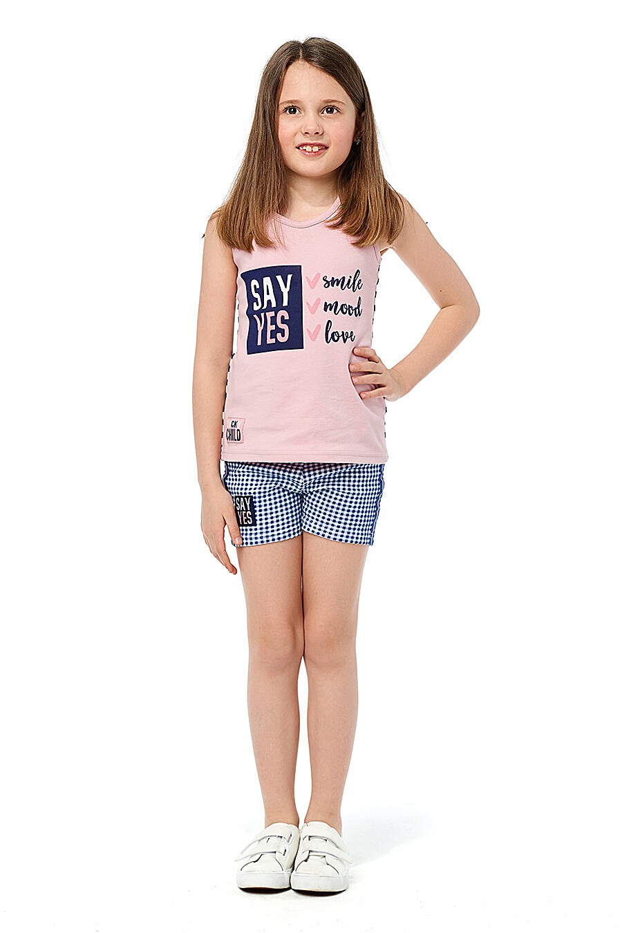Шорты для девочек LUCKY CHILD 184451 купить оптом от производителя. Совместная покупка детской одежды в OptMoyo