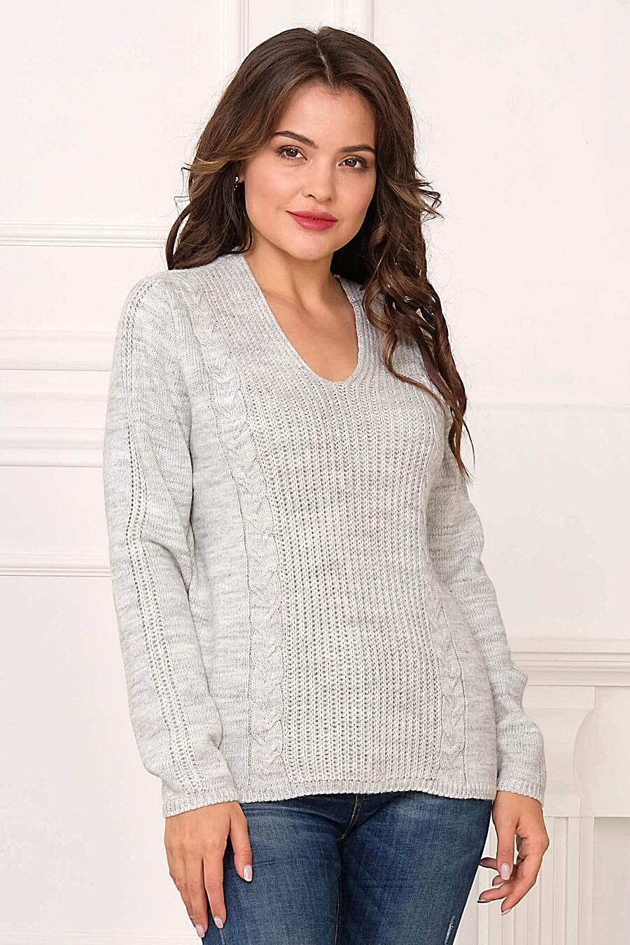 Джемпер для женщин ANKOLI 184516 купить оптом от производителя. Совместная покупка женской одежды в OptMoyo