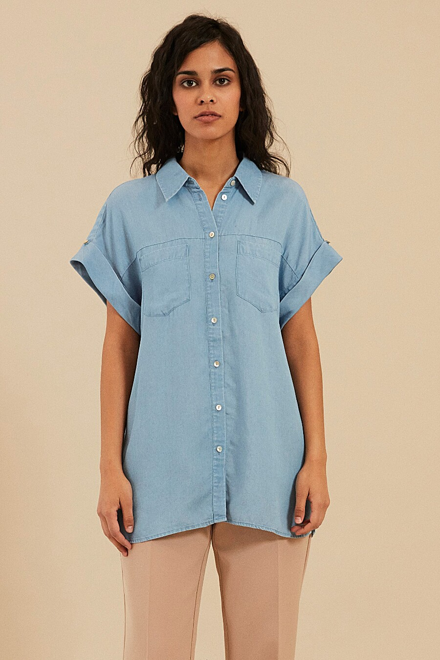 Блуза для женщин ZARINA 205086 купить оптом от производителя. Совместная покупка женской одежды в OptMoyo