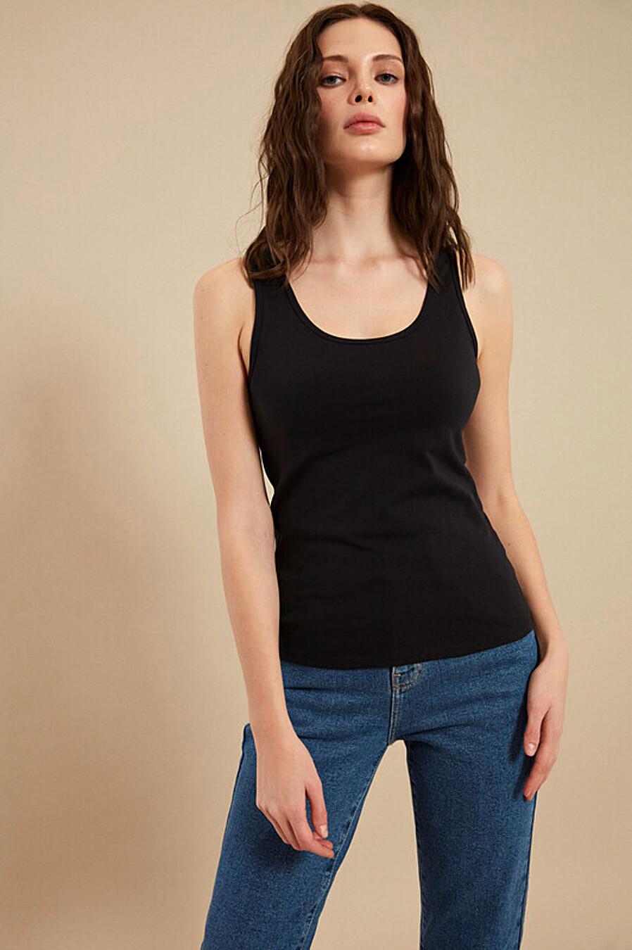 Майка для женщин ZARINA 205154 купить оптом от производителя. Совместная покупка женской одежды в OptMoyo