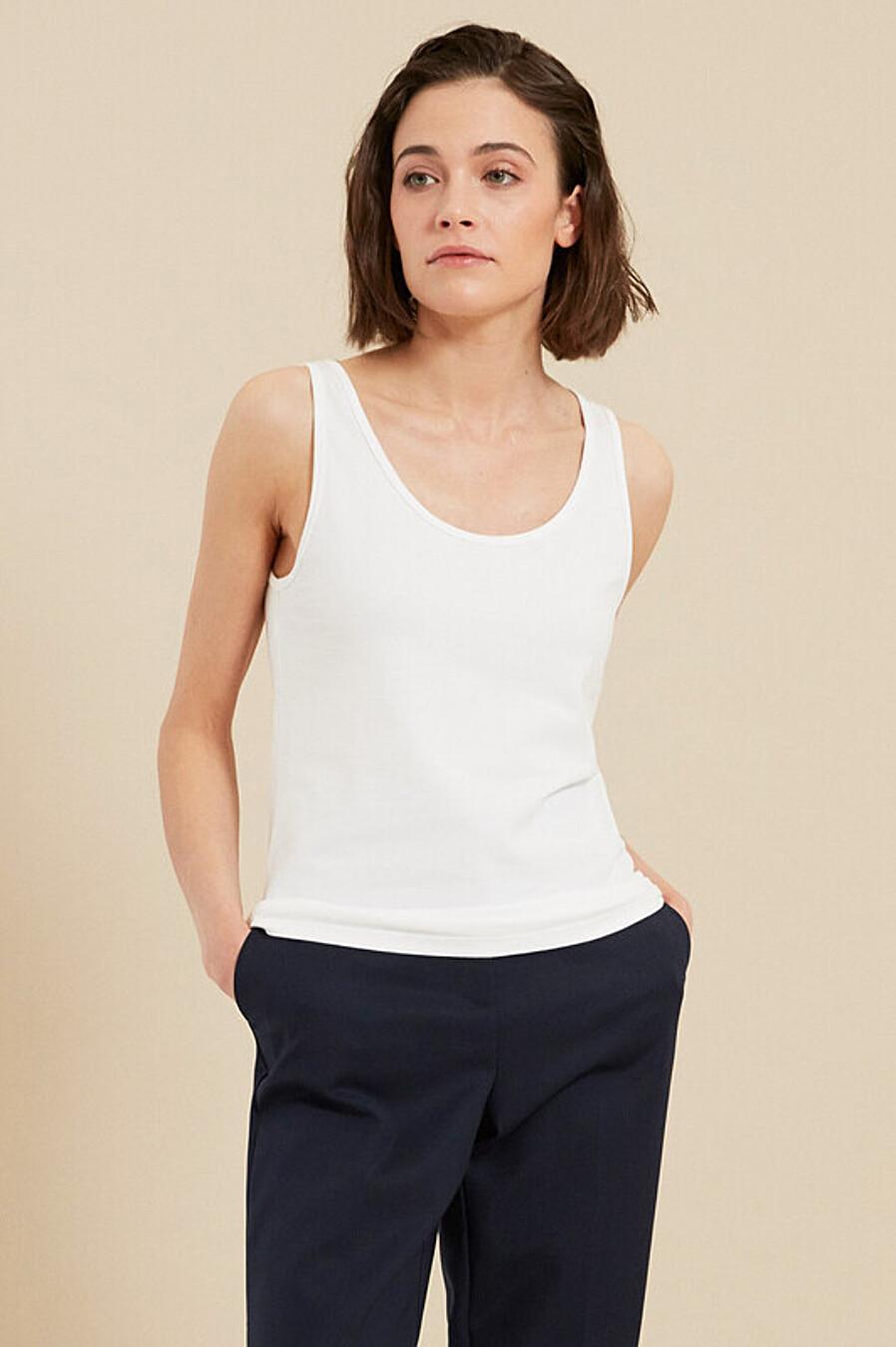 Майка для женщин ZARINA 205155 купить оптом от производителя. Совместная покупка женской одежды в OptMoyo