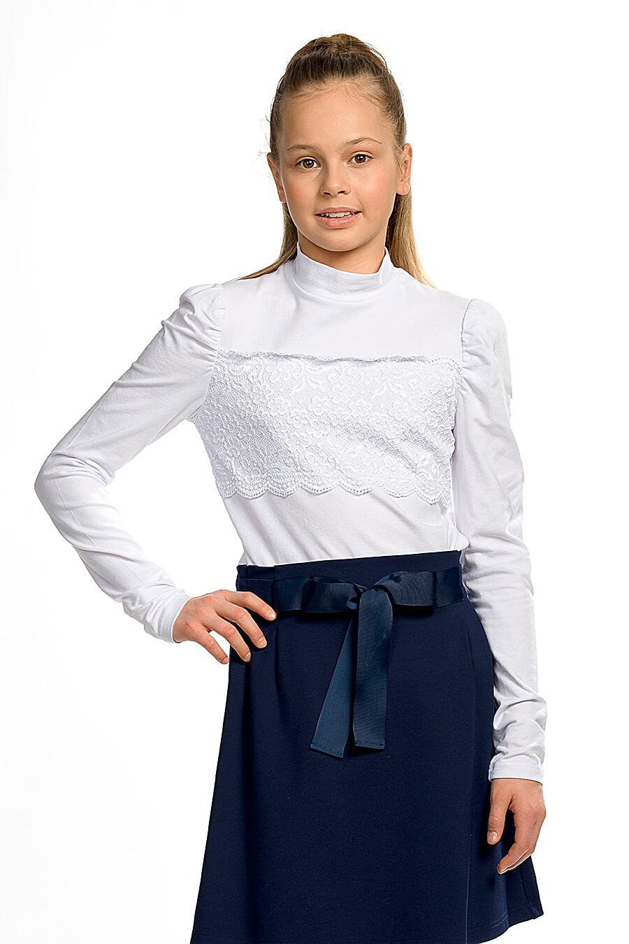 Блузка для девочек PELICAN 218564 купить оптом от производителя. Совместная покупка детской одежды в OptMoyo