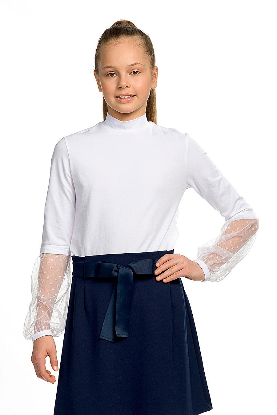 Блузка для девочек PELICAN 218567 купить оптом от производителя. Совместная покупка детской одежды в OptMoyo