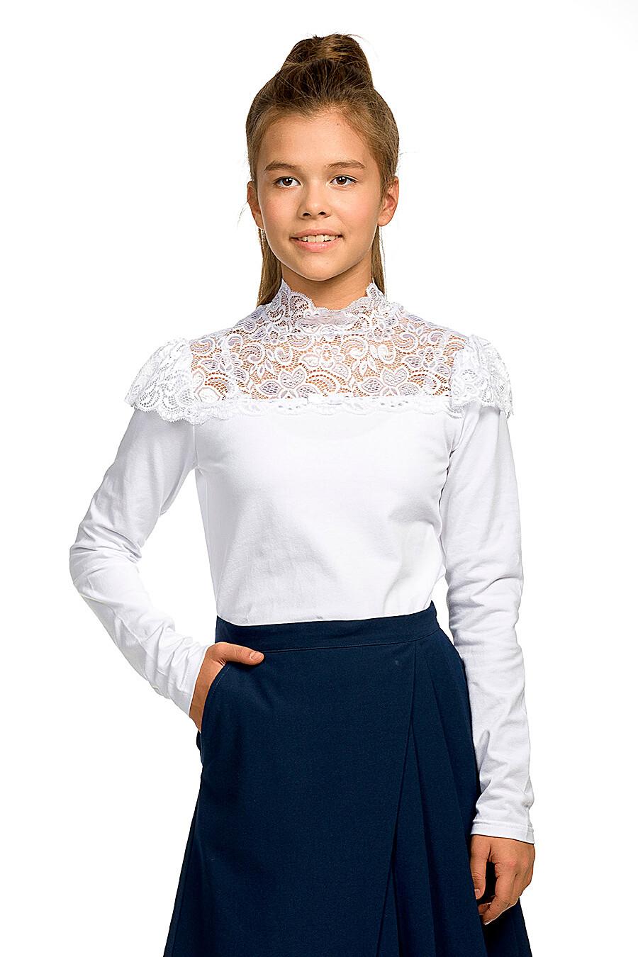 Блузка для девочек PELICAN 218591 купить оптом от производителя. Совместная покупка детской одежды в OptMoyo