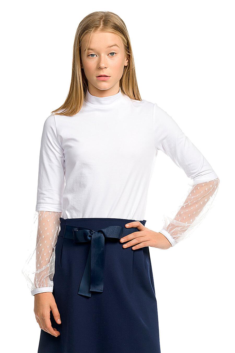 Водолазка для девочек PELICAN 218597 купить оптом от производителя. Совместная покупка детской одежды в OptMoyo