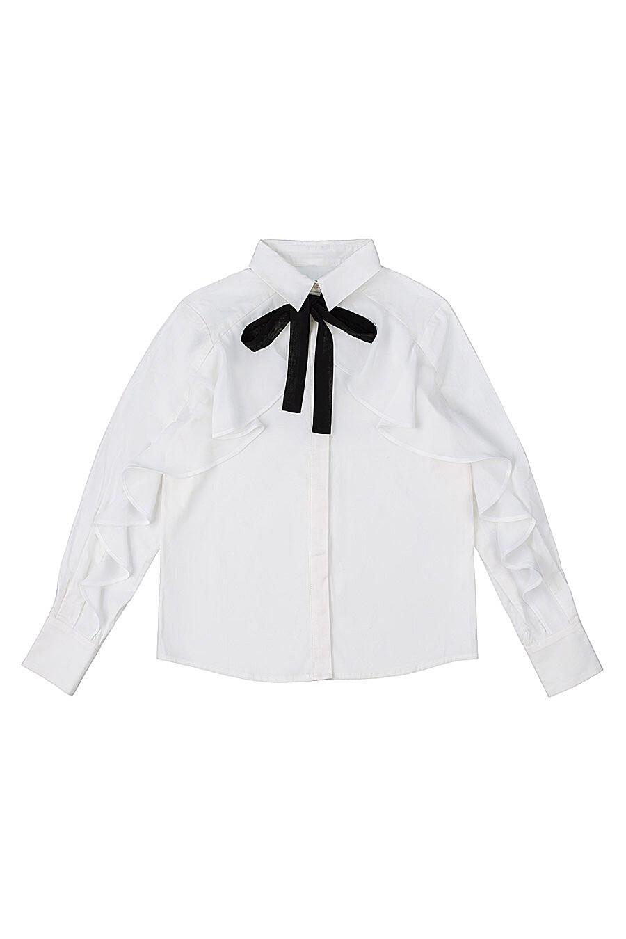 Блуза для девочек IN FUNT 218759 купить оптом от производителя. Совместная покупка детской одежды в OptMoyo