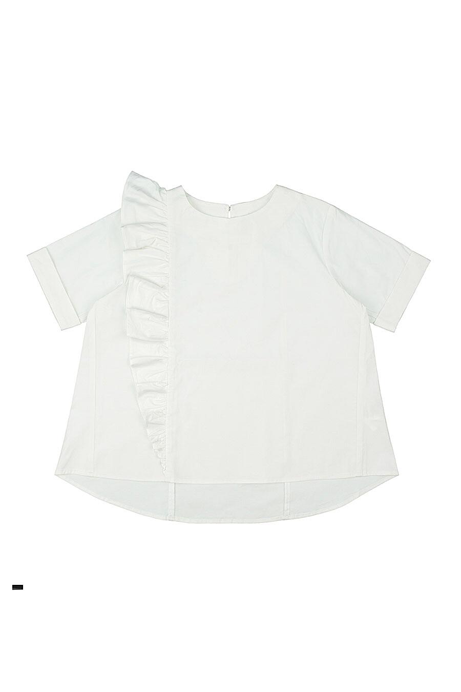 Блуза для девочек IN FUNT 218813 купить оптом от производителя. Совместная покупка детской одежды в OptMoyo