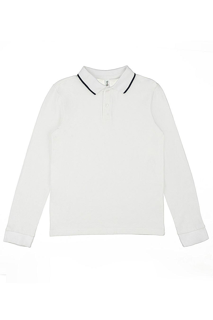Поло для мальчиков IN FUNT 219029 купить оптом от производителя. Совместная покупка детской одежды в OptMoyo