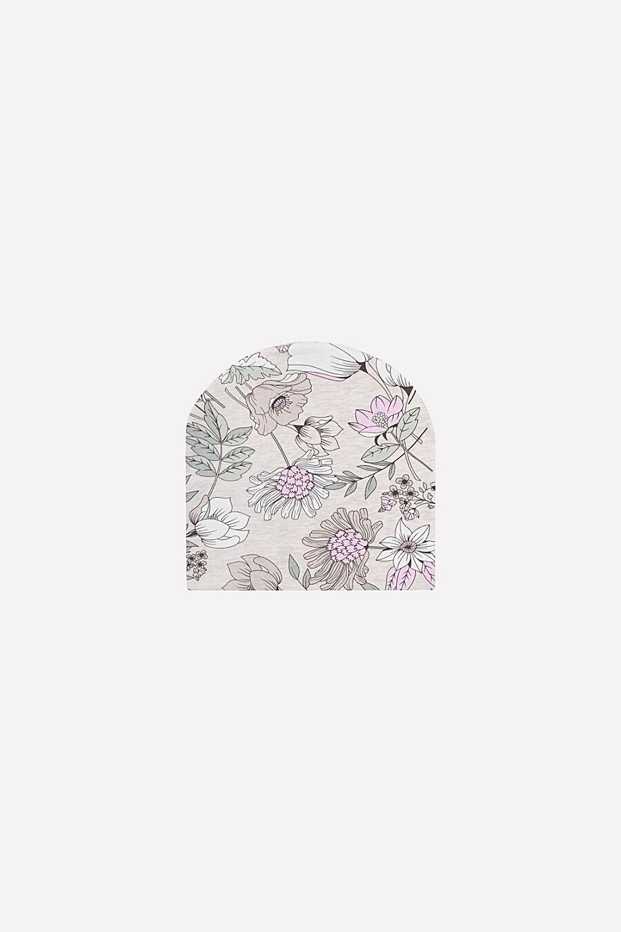 Шапка для девочек CROCKID 239252 купить оптом от производителя. Совместная покупка детской одежды в OptMoyo