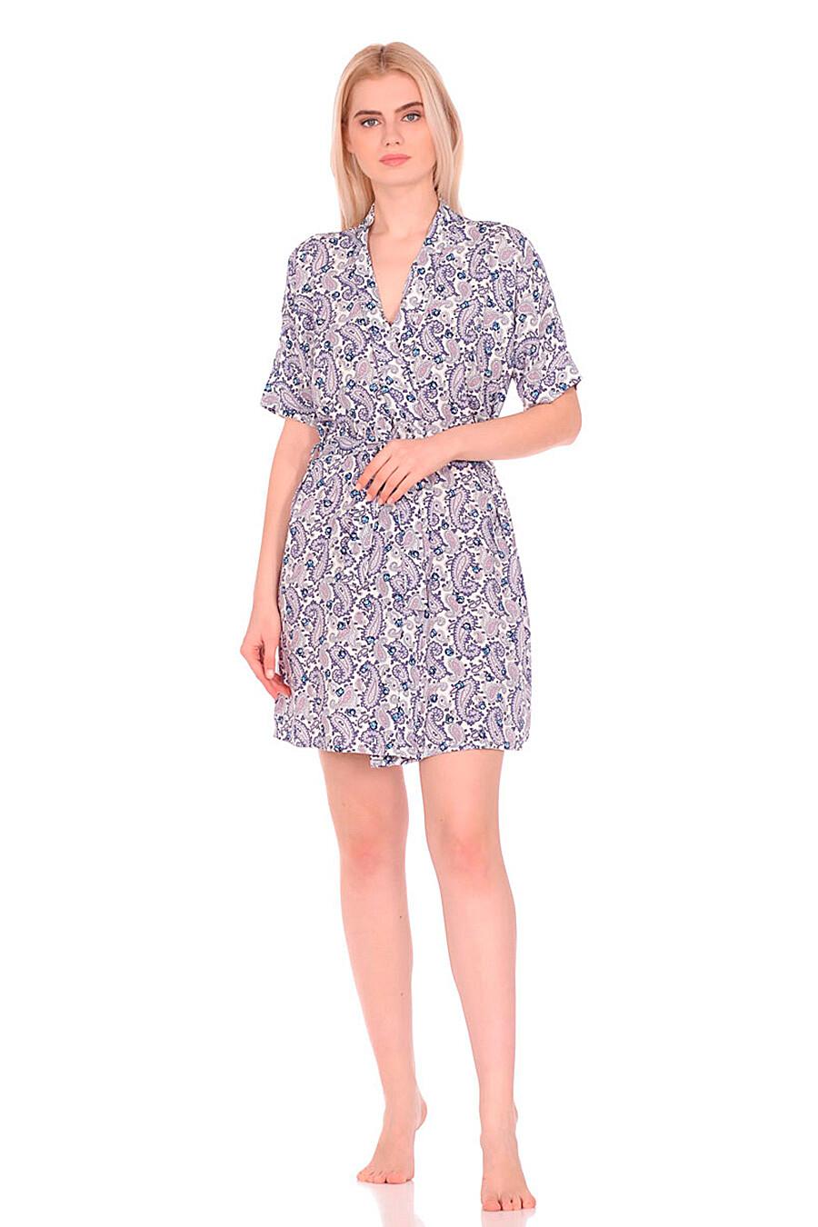 Халат для женщин N.O.A. 239603 купить оптом от производителя. Совместная покупка женской одежды в OptMoyo