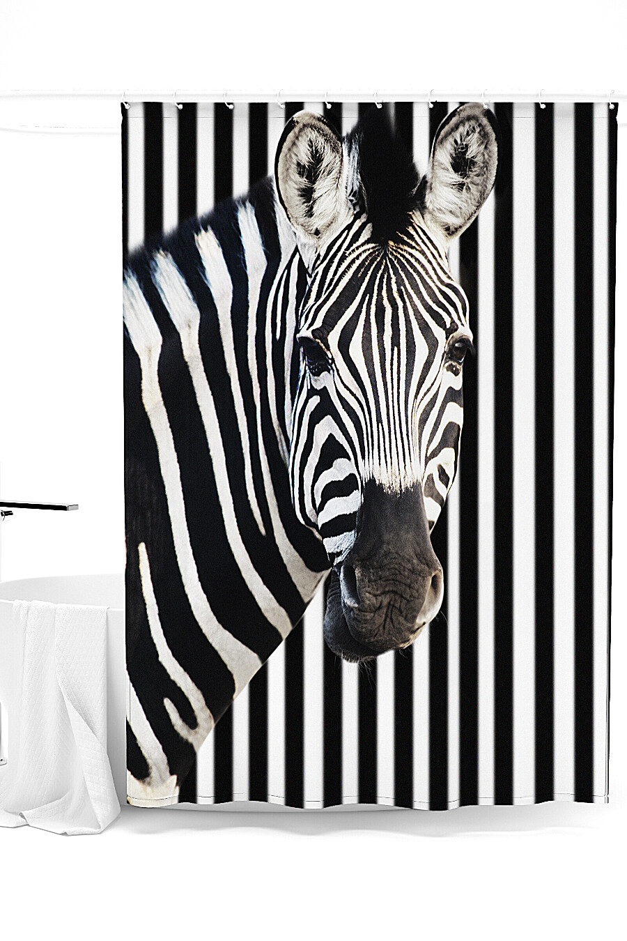 Штора для ванной для дома ART HOME TEXTILE 247910 купить оптом от производителя. Совместная покупка товаров для дома в OptMoyo