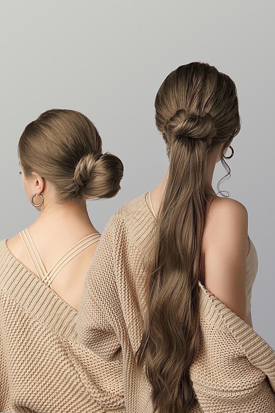 """Накладной хвост шиньон накладные волосы длинный шиньон шиньон с заколкой """"Нимфа"""" Nothing But Love (272825), купить в Moyo.moda"""
