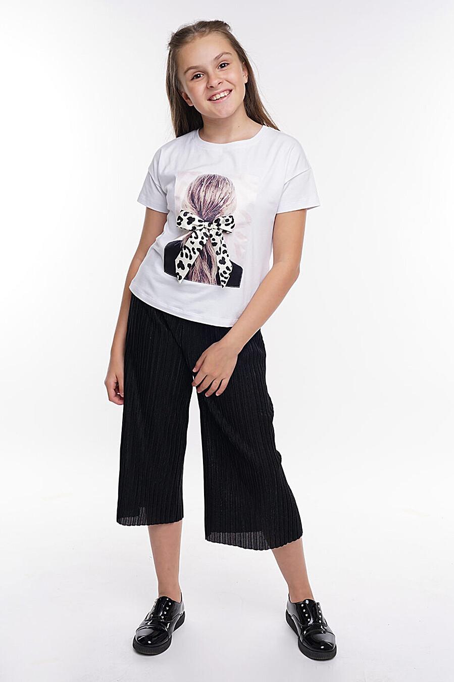 Брюки для девочек CLEVER 272891 купить оптом от производителя. Совместная покупка детской одежды в OptMoyo