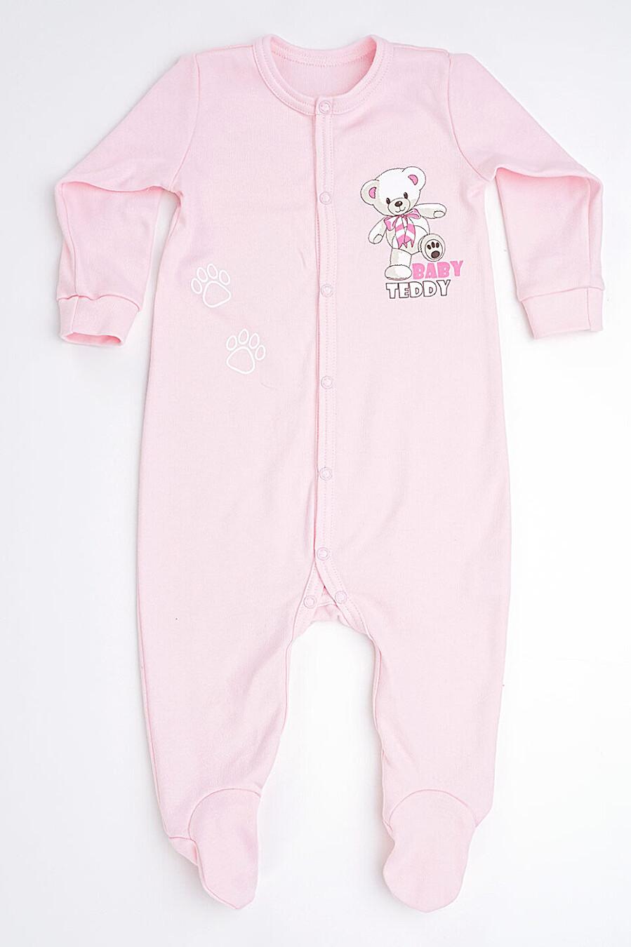 Комбинезон для девочек CLEVER 272906 купить оптом от производителя. Совместная покупка детской одежды в OptMoyo