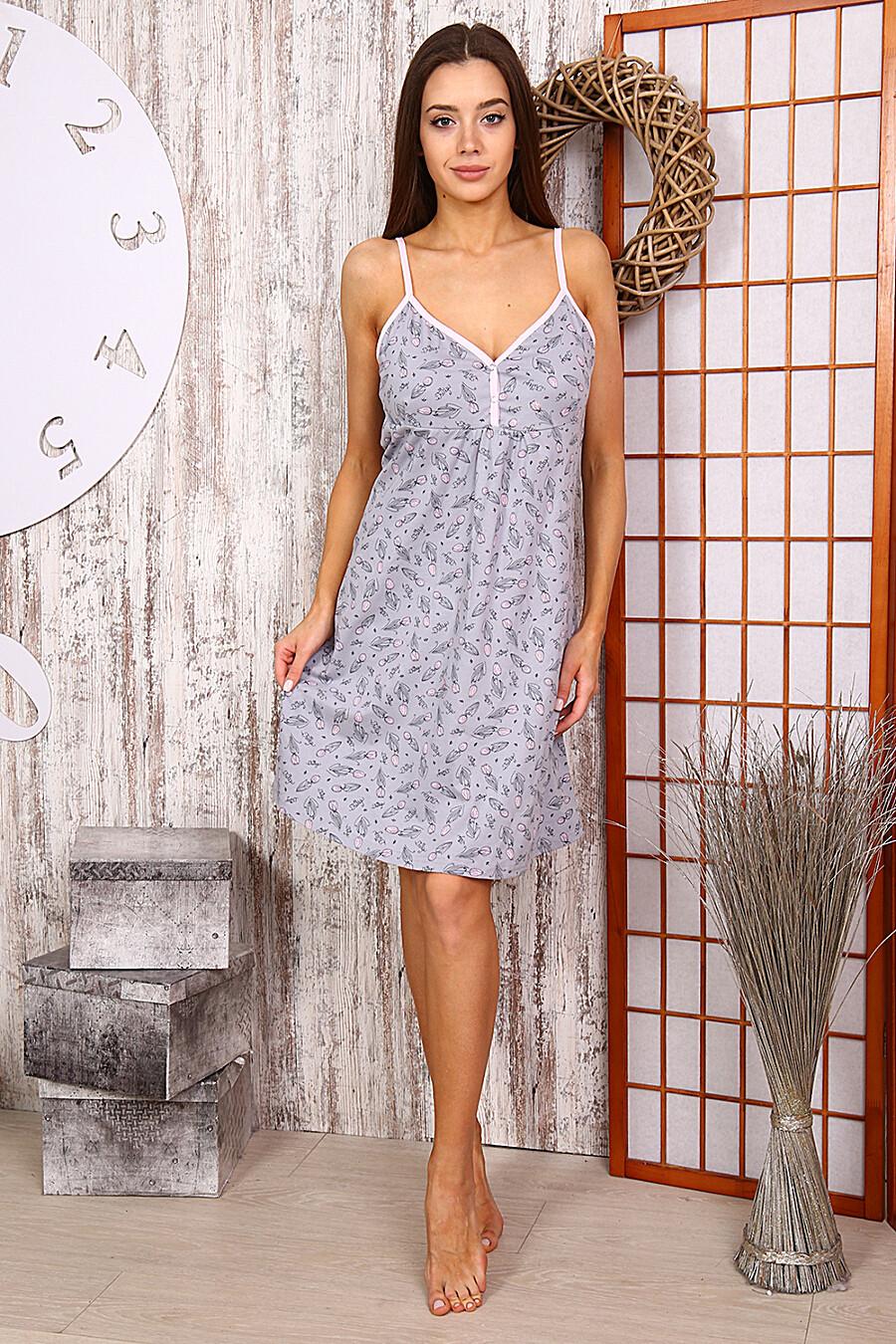 Сорочка 15107 для женщин НАТАЛИ 288680 купить оптом от производителя. Совместная покупка женской одежды в OptMoyo