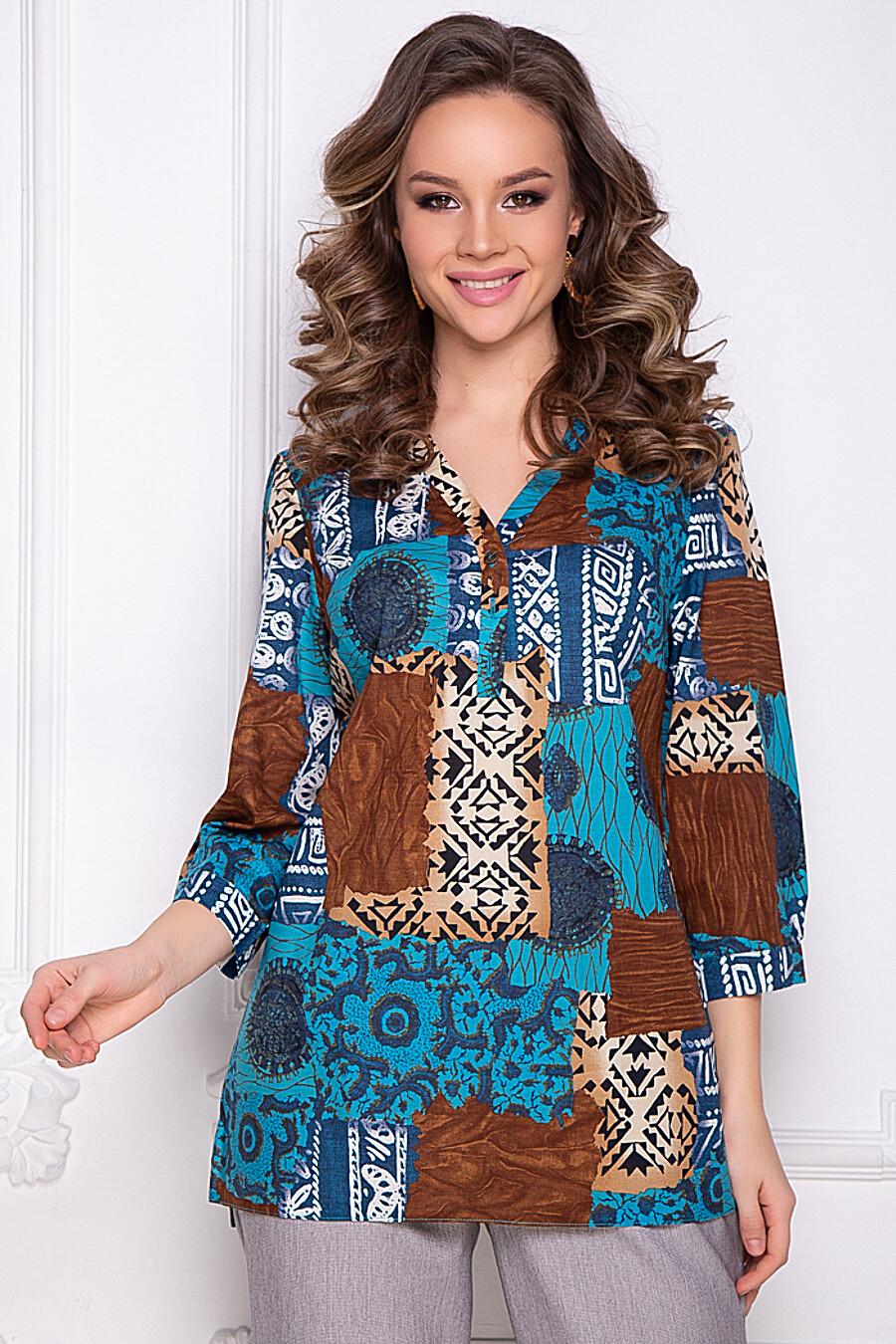 БЛУЗКА ЭТНОРА (БЛУ) BELLOVERA (289661), купить в Moyo.moda