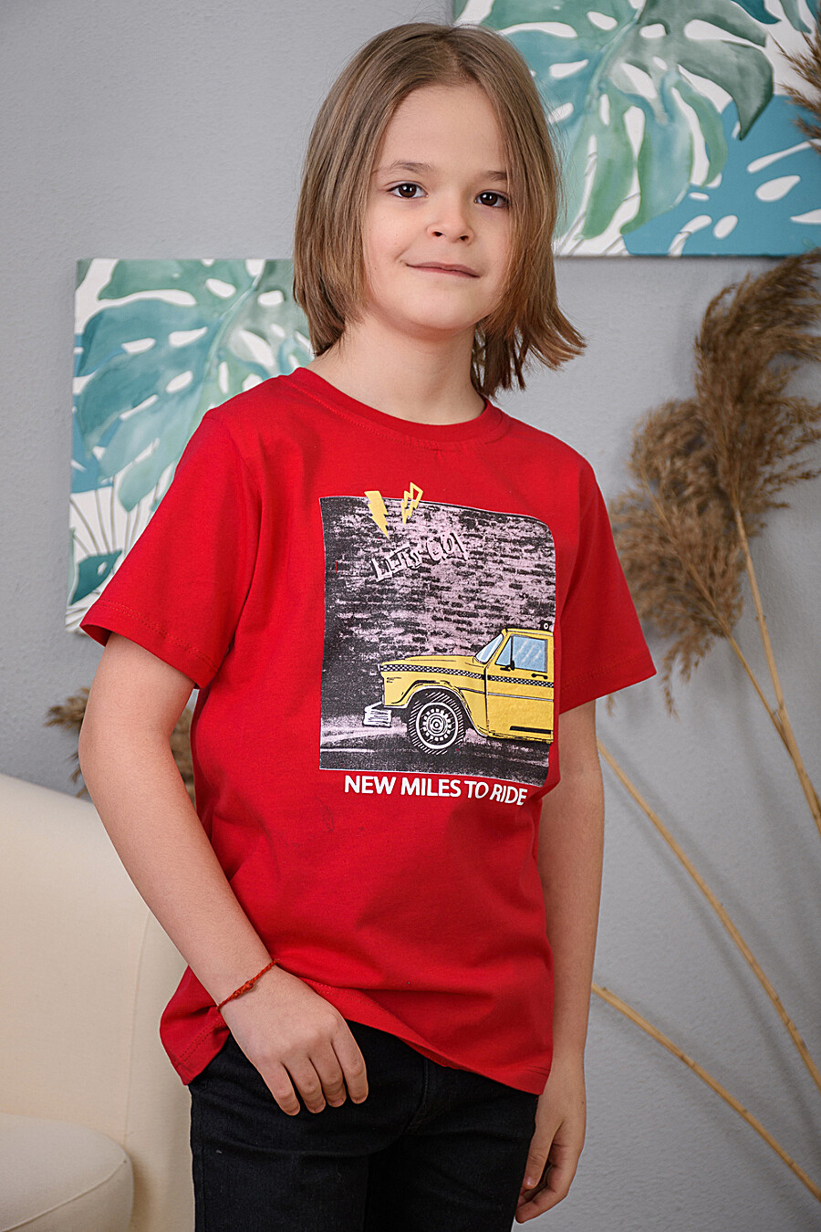 Футболка 6399 для мальчиков НАТАЛИ 289697 купить оптом от производителя. Совместная покупка детской одежды в OptMoyo