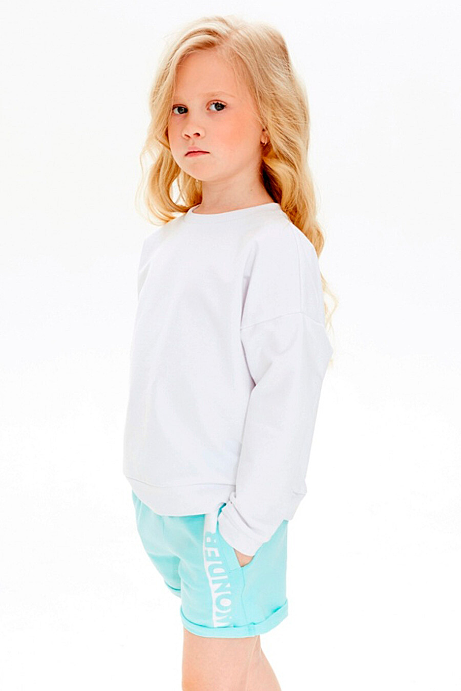 Шорты для девочек UMKA 321854 купить оптом от производителя. Совместная покупка детской одежды в OptMoyo