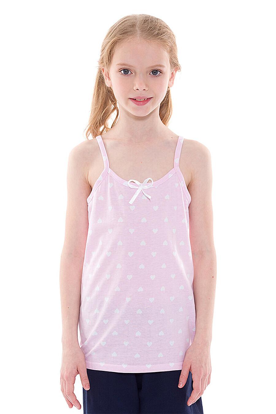 Майка для девочек N.O.A. 334973 купить оптом от производителя. Совместная покупка детской одежды в OptMoyo