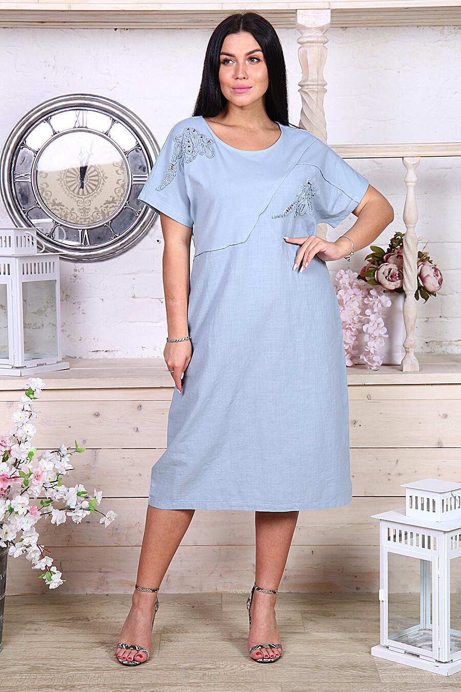 Платье 22179 для женщин НАТАЛИ 348401 купить оптом от производителя. Совместная покупка женской одежды в OptMoyo