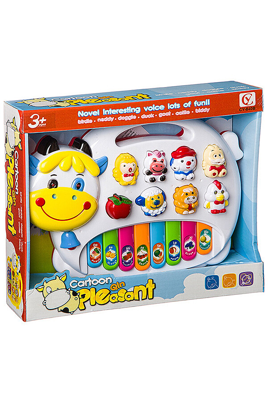 Музыкальный инструмент для детей BONNA 348488 купить оптом от производителя. Совместная покупка игрушек в OptMoyo