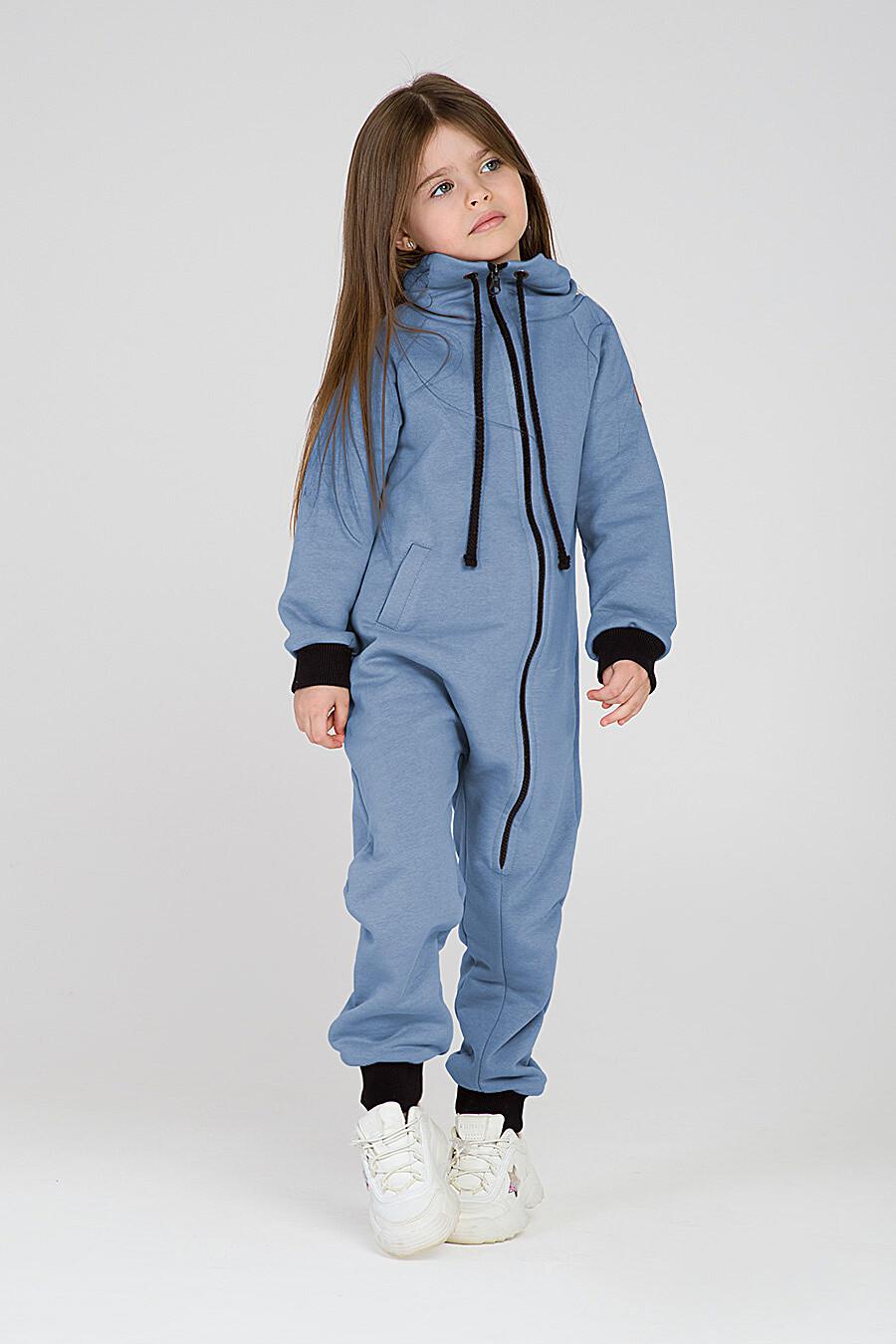 Комбинезон для девочек EZANNA 649184 купить оптом от производителя. Совместная покупка детской одежды в OptMoyo
