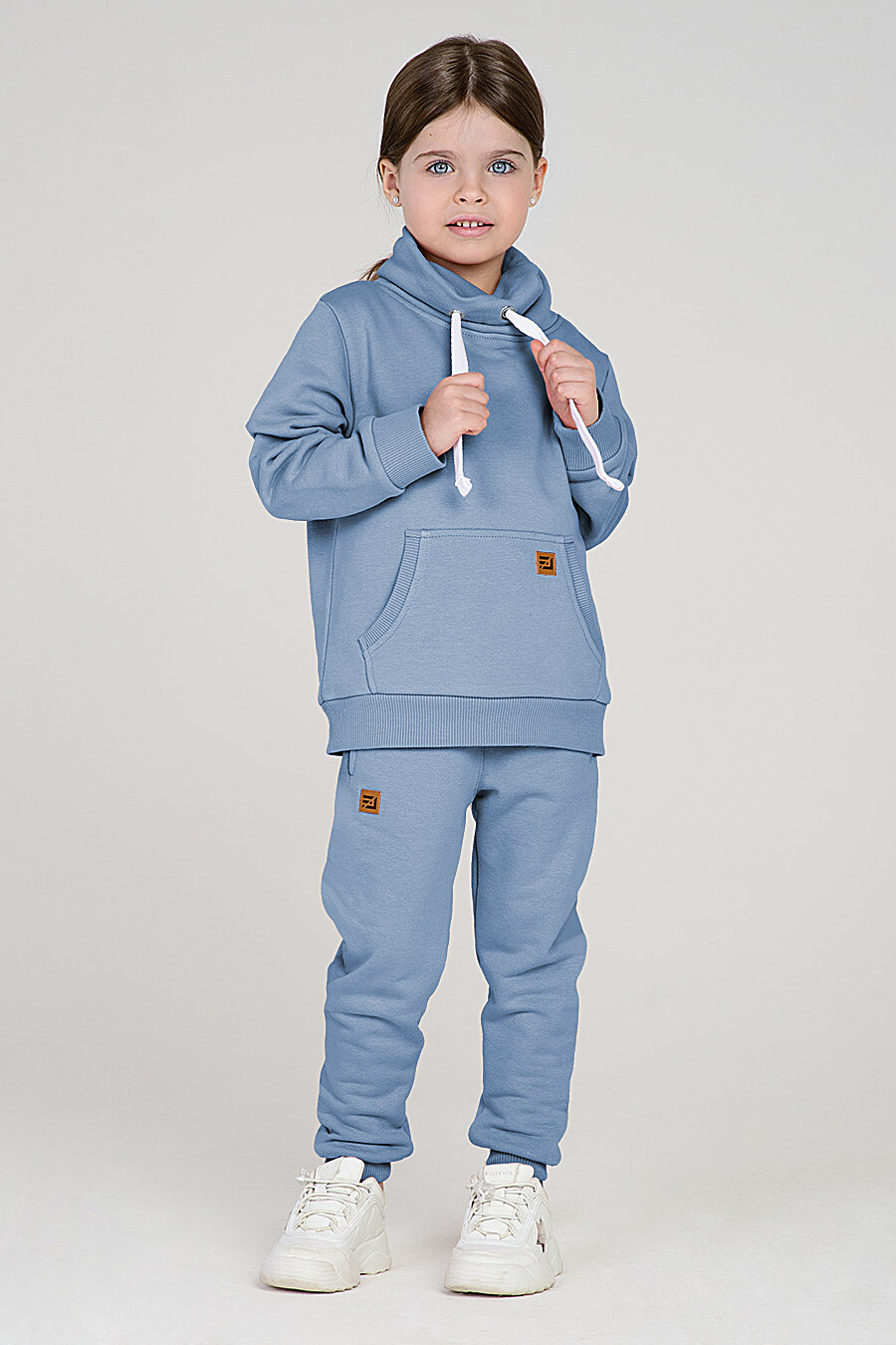 Худи для девочек EZANNA 649343 купить оптом от производителя. Совместная покупка детской одежды в OptMoyo