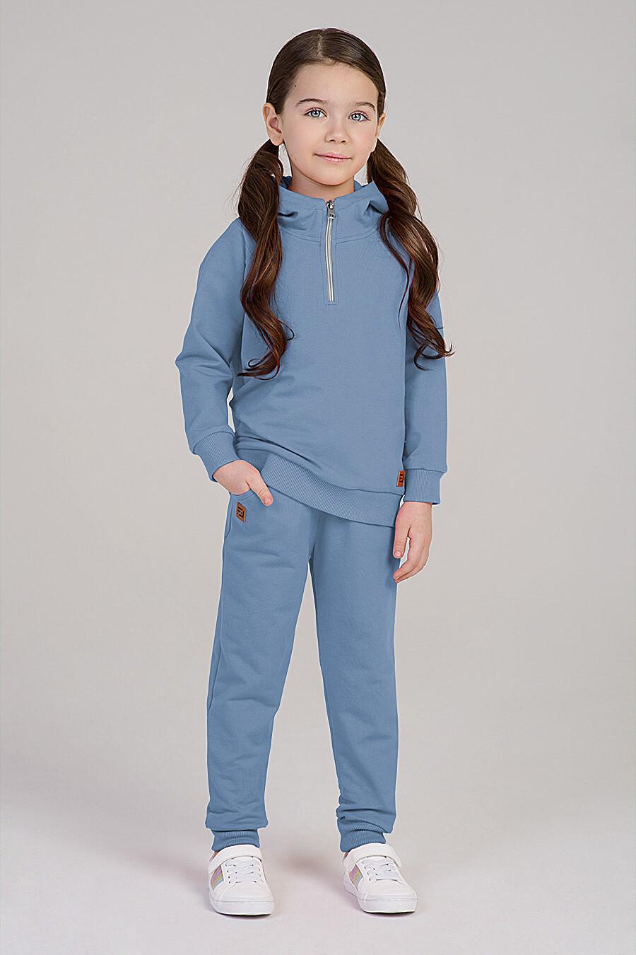 Худи для девочек EZANNA 649346 купить оптом от производителя. Совместная покупка детской одежды в OptMoyo