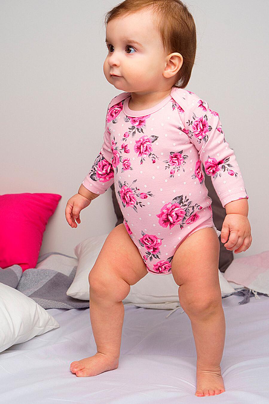 Боди 2 шт. для девочек PLAYTODAY 649433 купить оптом от производителя. Совместная покупка детской одежды в OptMoyo