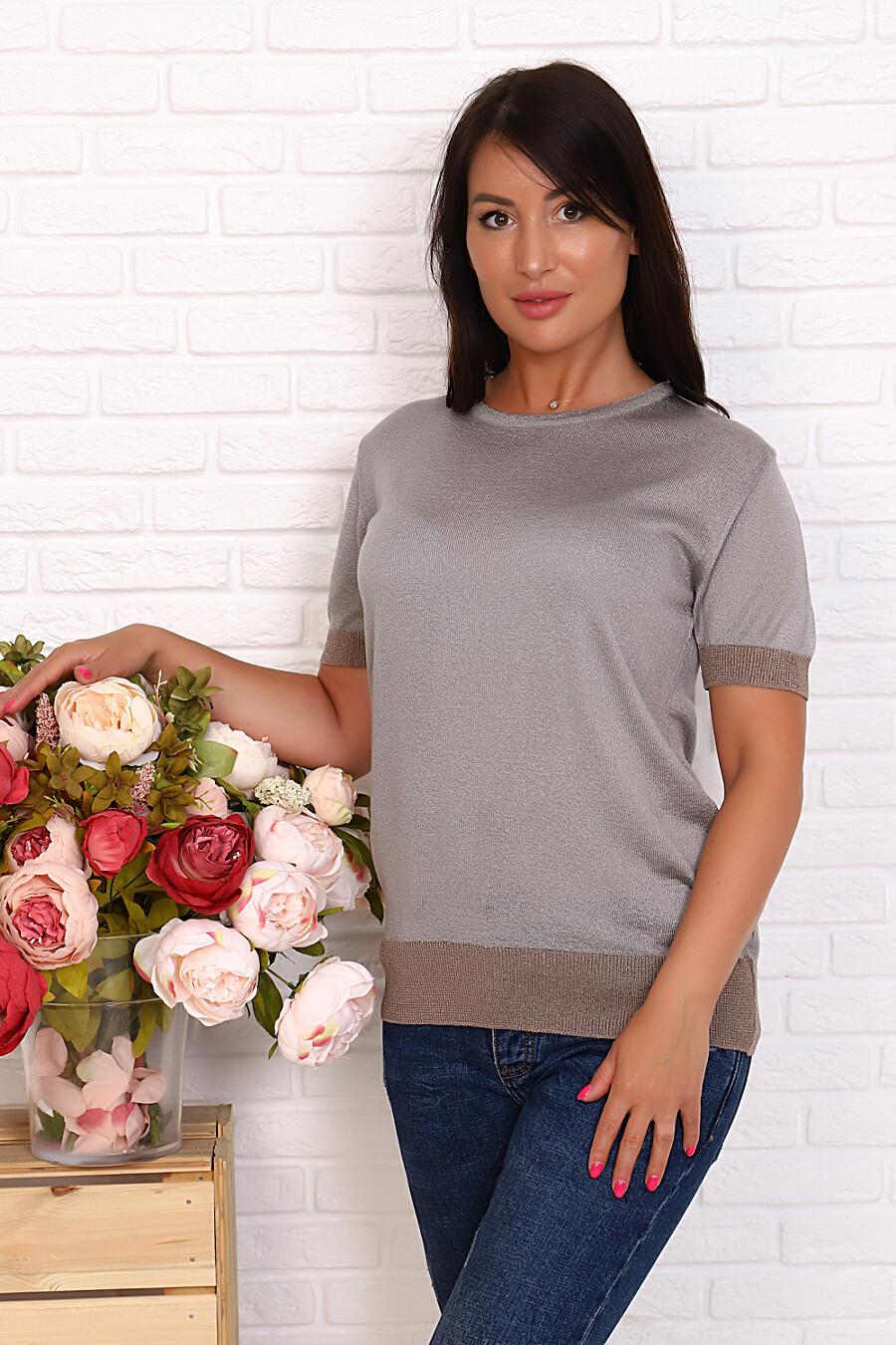 Джемпер 6585 для женщин НАТАЛИ 649610 купить оптом от производителя. Совместная покупка женской одежды в OptMoyo