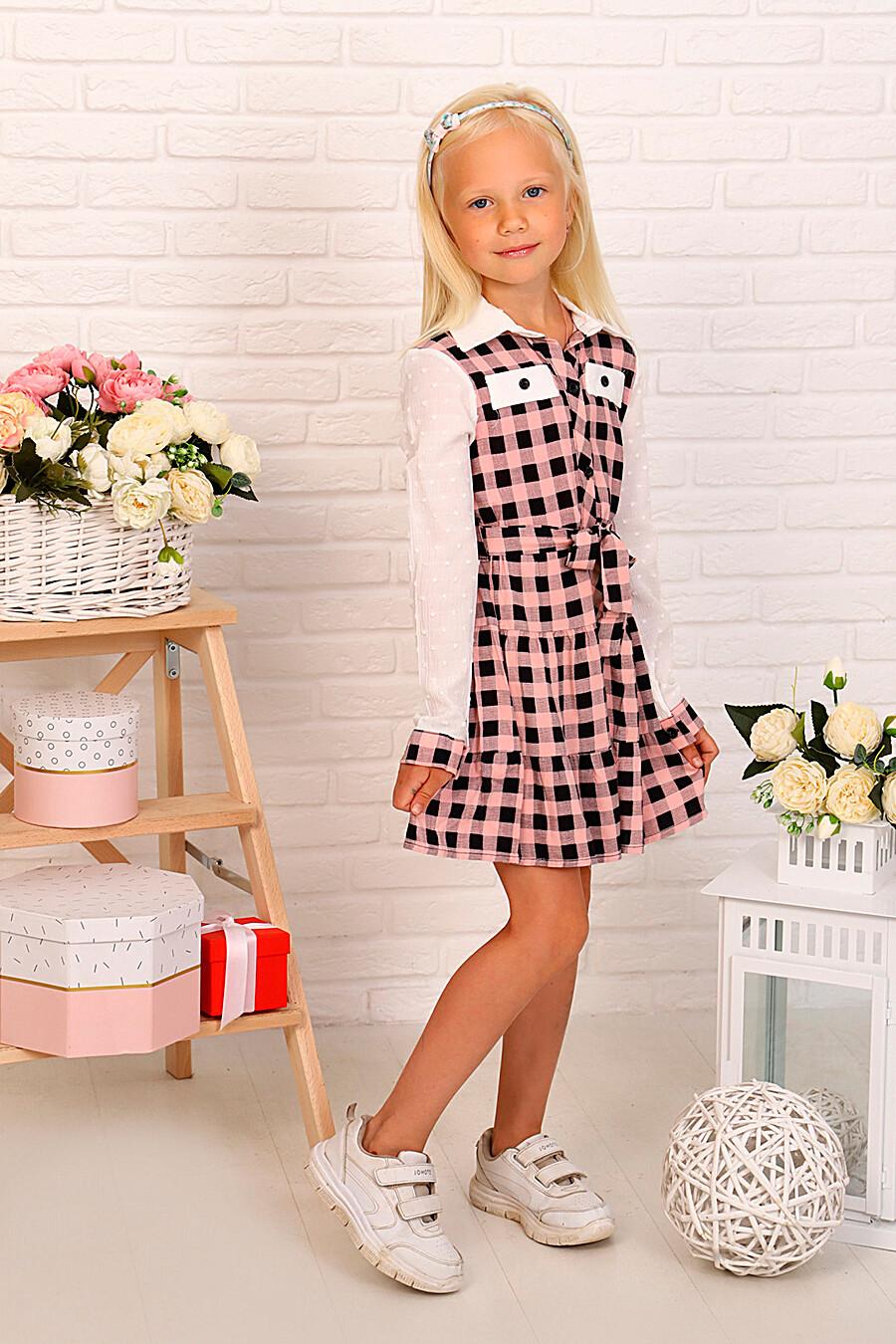 Платье для девочек SOFIYA37 667883 купить оптом от производителя. Совместная покупка детской одежды в OptMoyo
