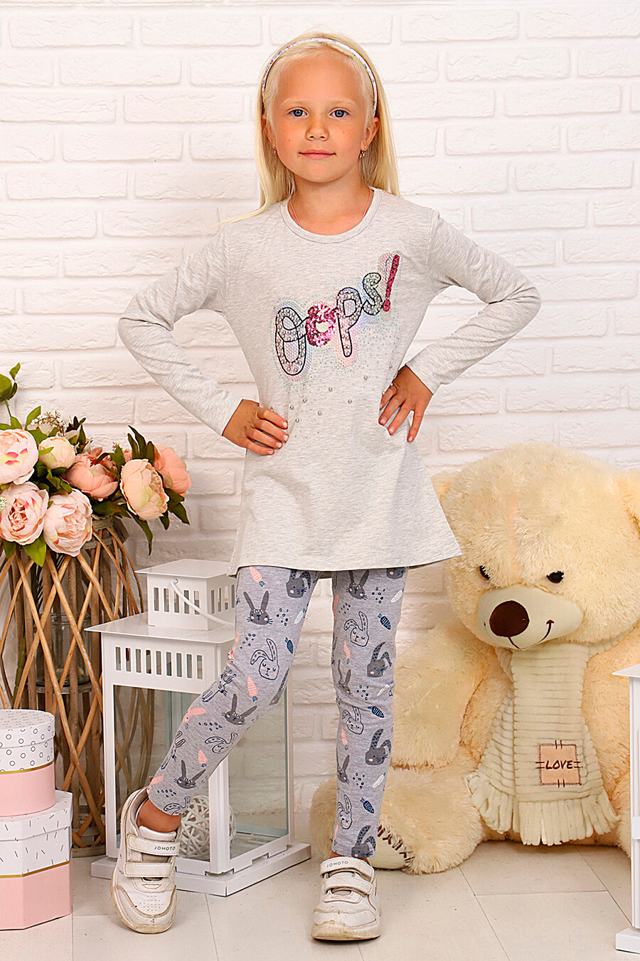 Туника для девочек SOFIYA37 667958 купить оптом от производителя. Совместная покупка детской одежды в OptMoyo