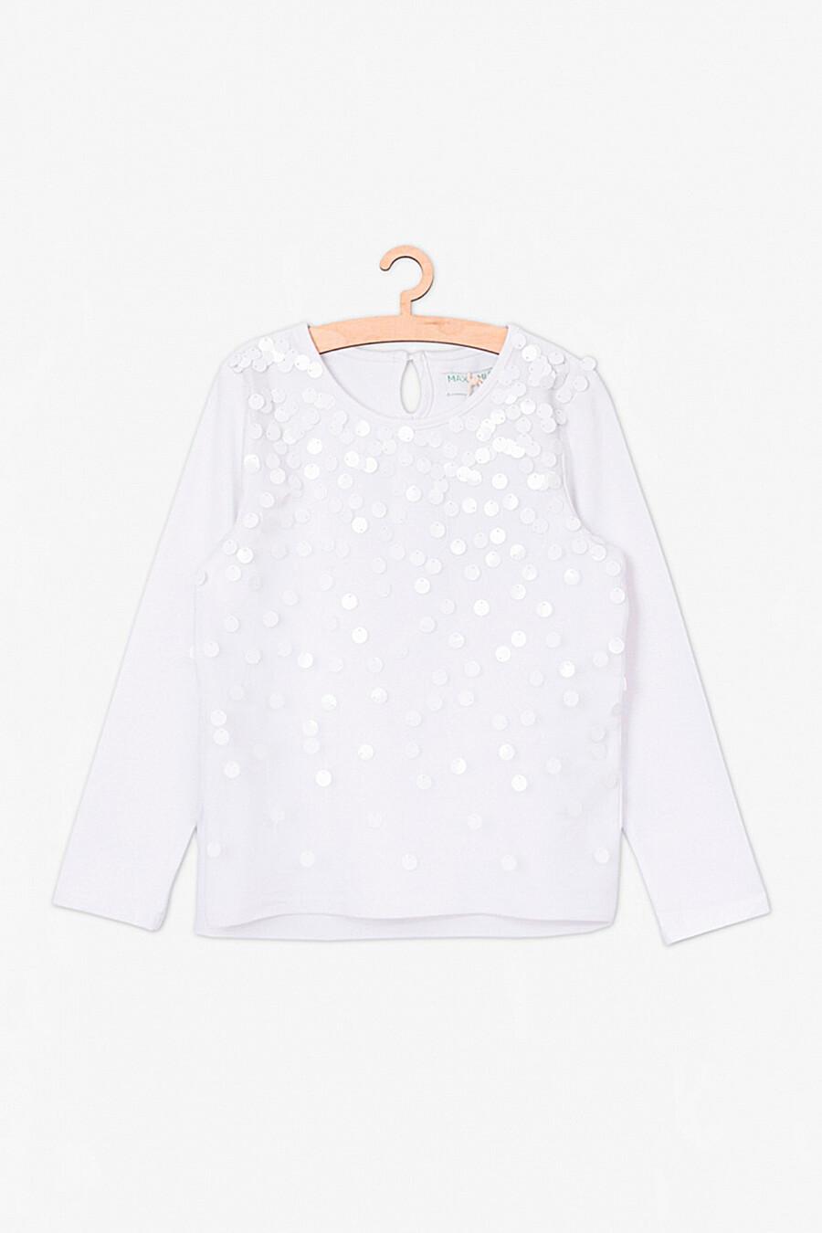 Лонгслив для девочек 5.10.15 668534 купить оптом от производителя. Совместная покупка детской одежды в OptMoyo