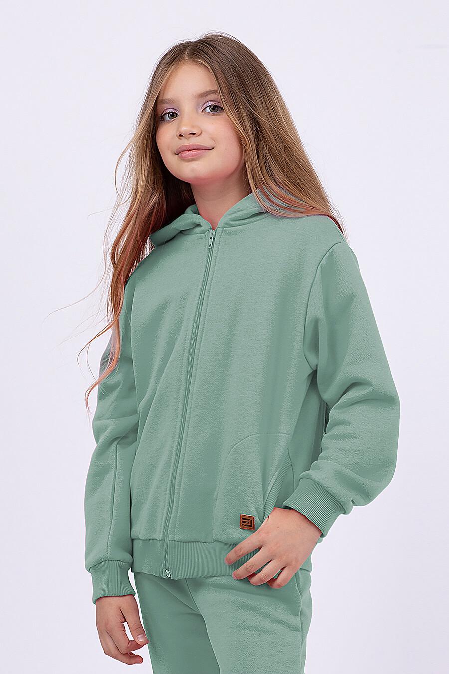 Толстовка для девочек EZANNA 682091 купить оптом от производителя. Совместная покупка детской одежды в OptMoyo