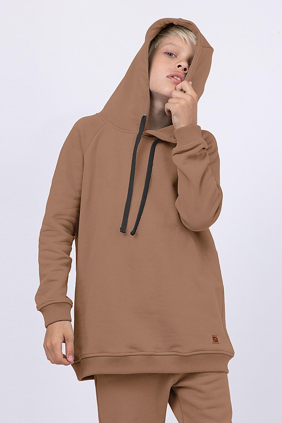 Худи для мальчиков EZANNA 682301 купить оптом от производителя. Совместная покупка детской одежды в OptMoyo