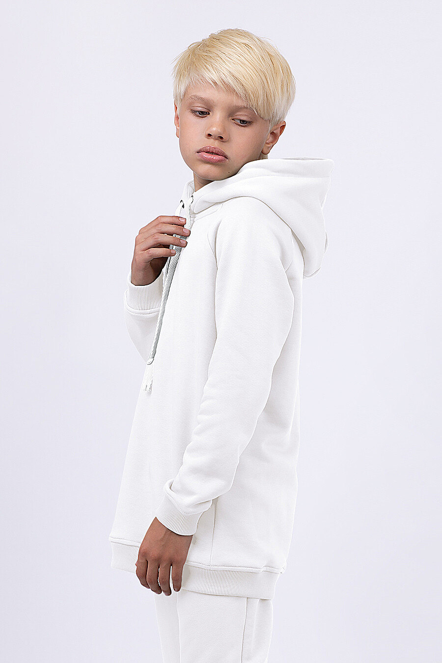 Худи для мальчиков EZANNA 682307 купить оптом от производителя. Совместная покупка детской одежды в OptMoyo